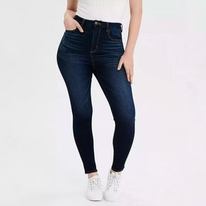 American Eagle highest rise jegging jeans curvy 12